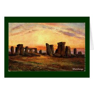 Christmas Card - Stonehenge