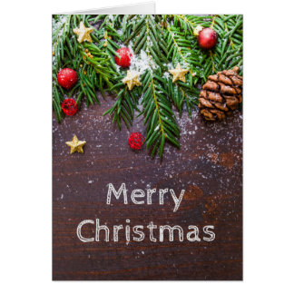 Christmas Card w/ Blank Inside