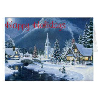 Christmas Card (Winter Village)