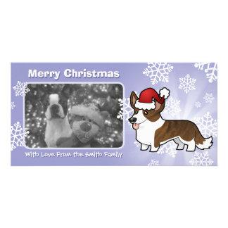 Christmas Cardigan Welsh Corgi Photo Card