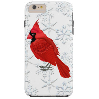Christmas Cardinal iPhone 6 plus tough case