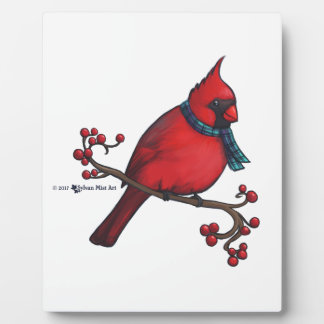 Christmas Cardinal Plaque