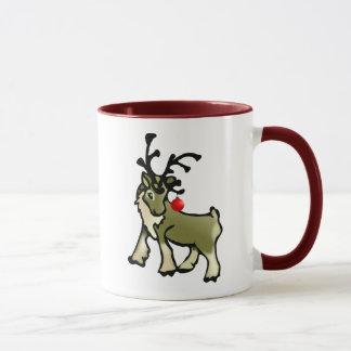 Christmas Caribou Mug
