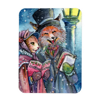 Christmas Carol Magnet