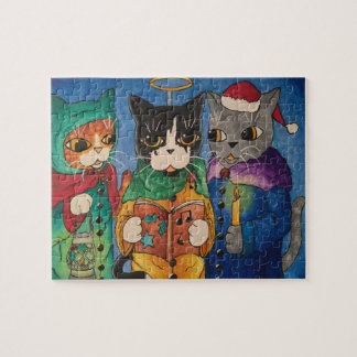 Christmas Carol Singers Jigsaw Puzzle