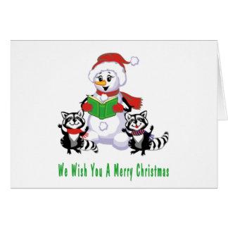 Christmas Carolers Card