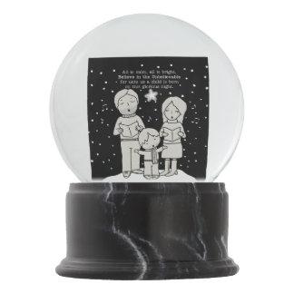 Christmas Caroling Snow Globe