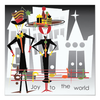Christmas Carols Joy Card/Invitation Card