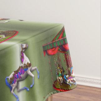 Christmas Carousel Tablecloth