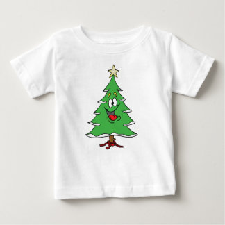 ***CHRISTMAS CARTOON CHRISTMAS TREE** TEE FOR BABY