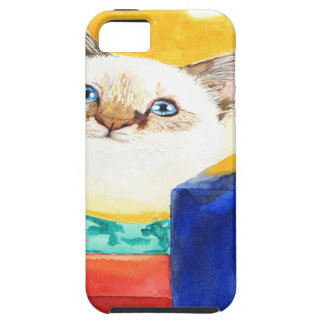 Christmas Cat iPhone 5 Covers
