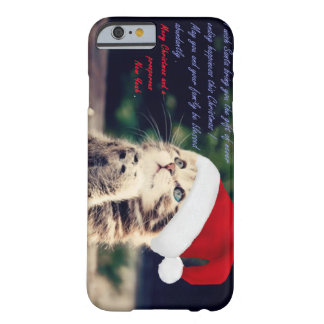Christmas Cat iPhone 6/6s, Barely There Barely There iPhone 6 Case