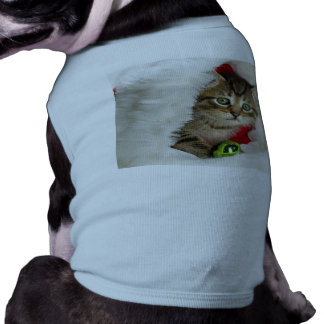 Christmas cat -kitten cat - cute cats shirt