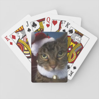 Christmas Cat Playing Cards