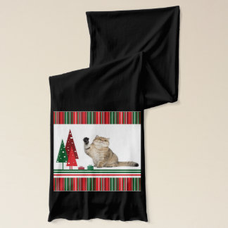 Christmas Cat Scarf