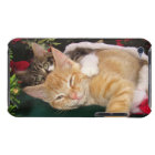 Christmas Cats, Cute Kittens Hugging, Kitty Smile iPod Case-Mate Case