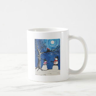 Christmas Cats In Love Coffee Mug