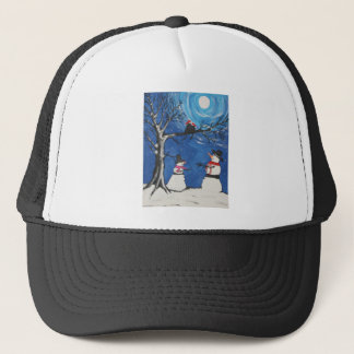 Christmas Cats In Love Trucker Hat