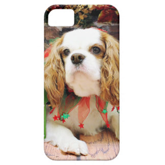 Christmas - Cavalier King Charles Spaniel  Mei Mei iPhone 5 Cases