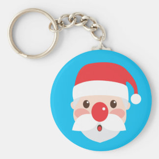 Christmas Character Faces Key Chain