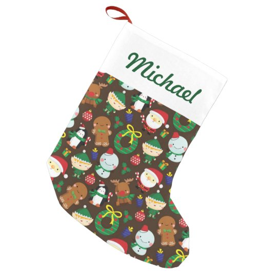 Christmas Characters Small Christmas Stocking
