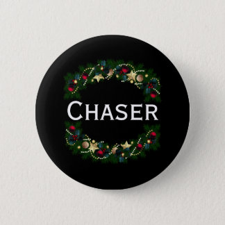 Christmas Chaser 2010 #1 2 Inch Round Button