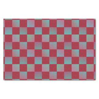 Christmas Check Pattern Decorative Tissue Paper