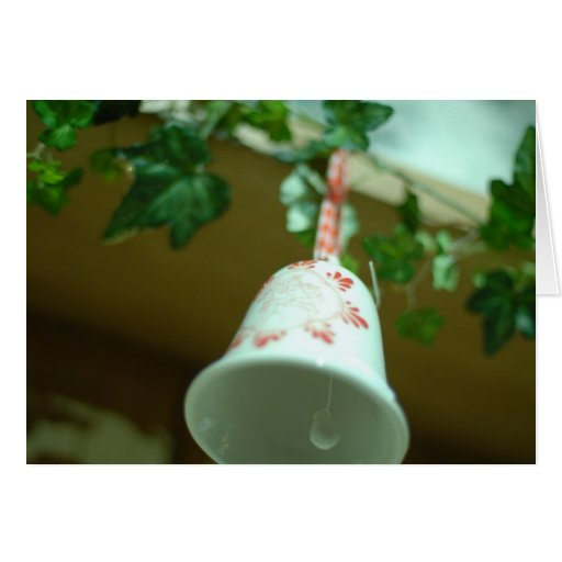 Christmas cheer decoration bells card