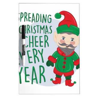 Christmas Cheer Dry-Erase Boards