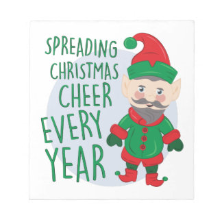 Christmas Cheer Notepad