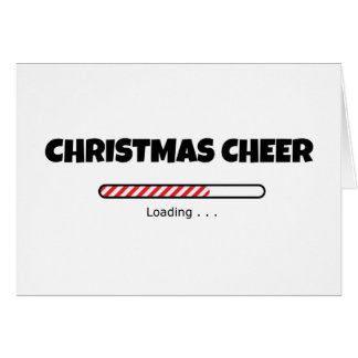 Christmas Cheer - Progress Bar - Loading Card