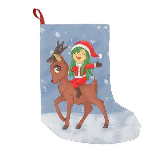 Christmas Cheer Small Christmas Stocking