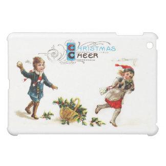 Christmas Cheer Snowball Toss iPad Mini Cover
