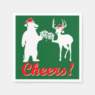 Christmas Cheers ! Disposable Napkin