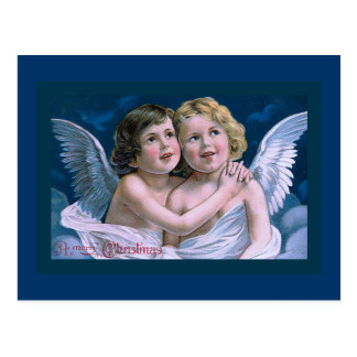 """Christmas Cherubs"" Postcard"