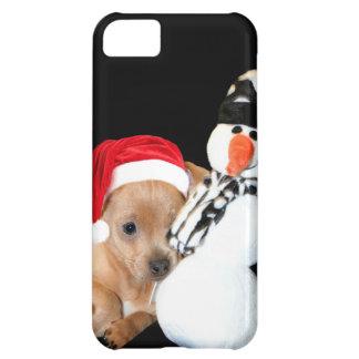 Christmas Chihuahua iPhone 5C Covers