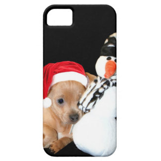 Christmas Chihuahua iPhone 5 Cover