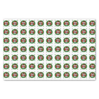 Christmas chihuahua dog tissue paper