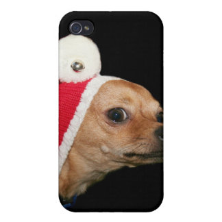 Christmas Chihuahua Covers For iPhone 4