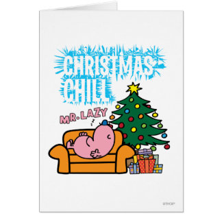 Christmas Chill Greeting Card