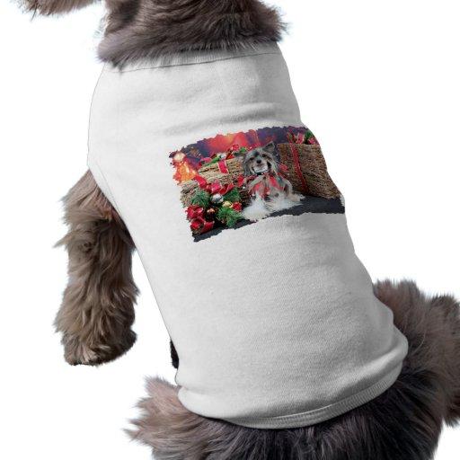 Christmas - Chinese Crested - Sheeba Pet Tee
