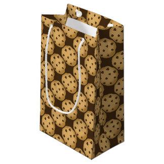 Christmas chocolate chip cookie small gift bag