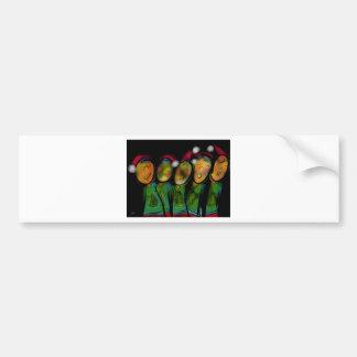 Christmas Choir Bumper Sticker