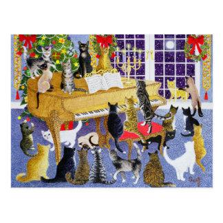 Christmas Chorus Postcard