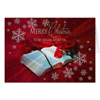 Christmas - Christian -SECRET PAL Greeting Card