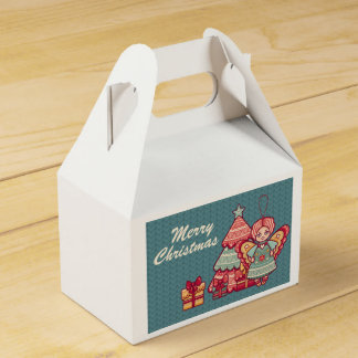Christmas, Christmas. Santa Claus, Gifts Favor Box