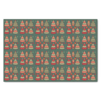 Christmas, Christmas. Santa Claus, Gifts Tissue Paper