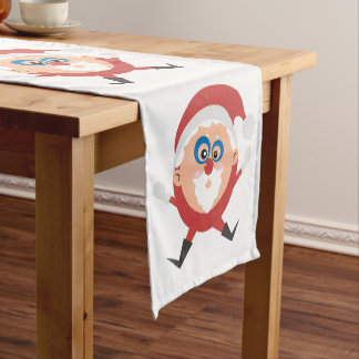 Christmas Circle of Santa's Table Runner