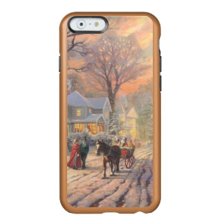 Christmas city - christmas village incipio feather® shine iPhone 6 case
