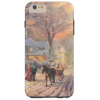Christmas city - christmas village tough iPhone 6 plus case